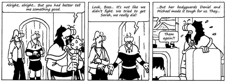 Zander Adventure Strip 53 by MDKartoons