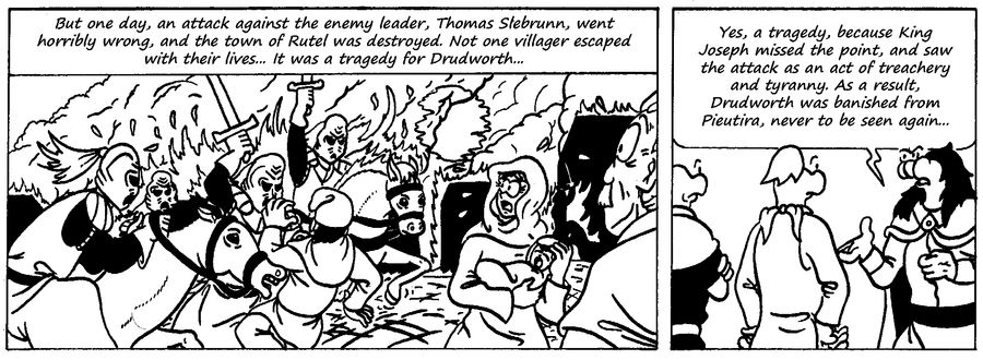 Zander Adventure Strip 58 by MDKartoons