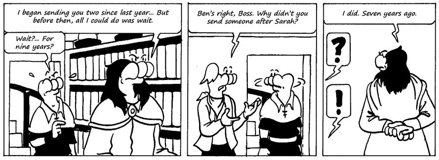 Zander Adventure Strip 60 by MDKartoons