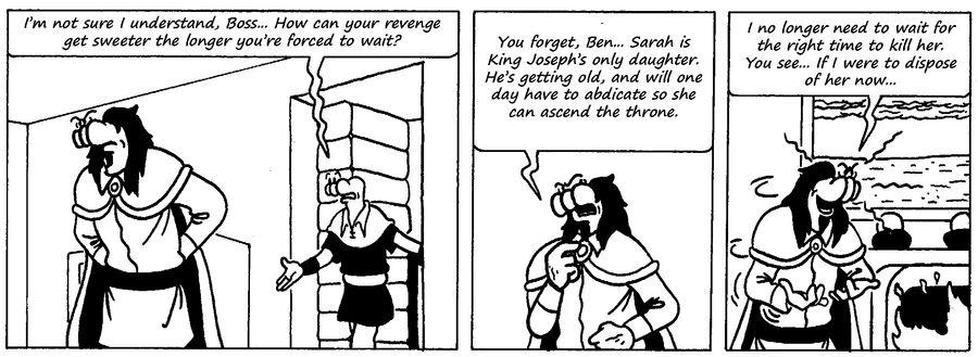 Zander Adventure Strip 64 by MDKartoons