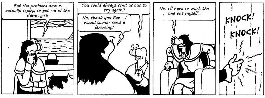 Zander Adventure Strip 67 by MDKartoons
