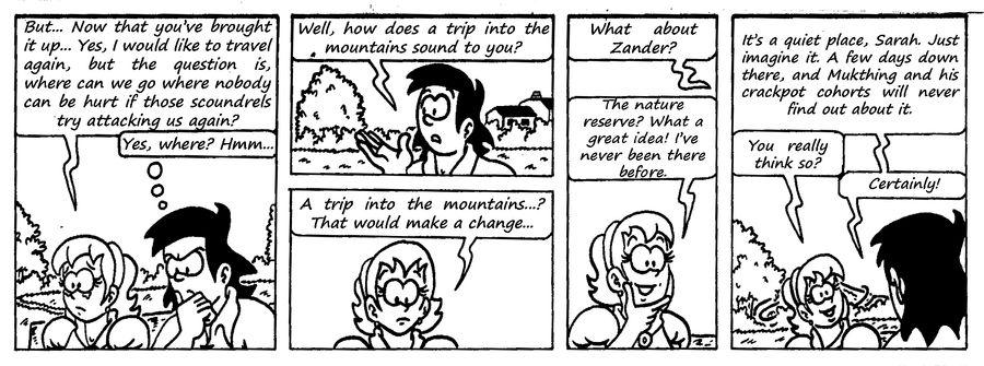 Zander Adventure Strip 85 by MDKartoons
