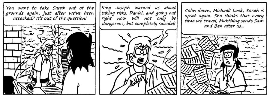 Zander Adventure Strip 89 by MDKartoons