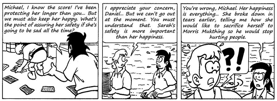 Zander Adventure Strip 92 by MDKartoons