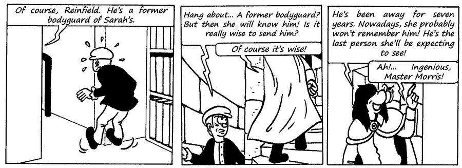 Zander Adventure Strip 99 by MDKartoons