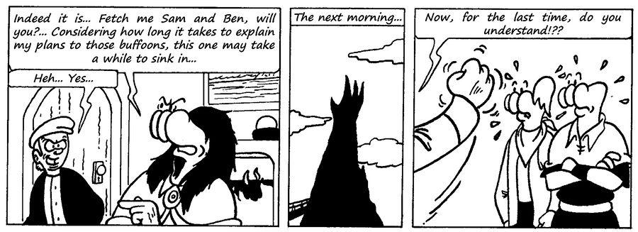 Zander Adventure Strip 100 by MDKartoons