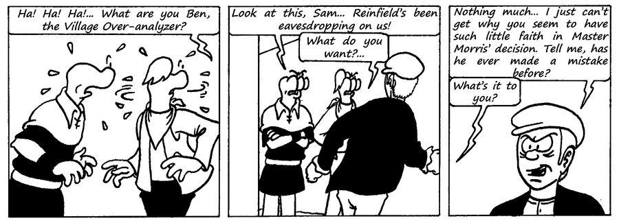 Zander Adventure Strip 107 by MDKartoons