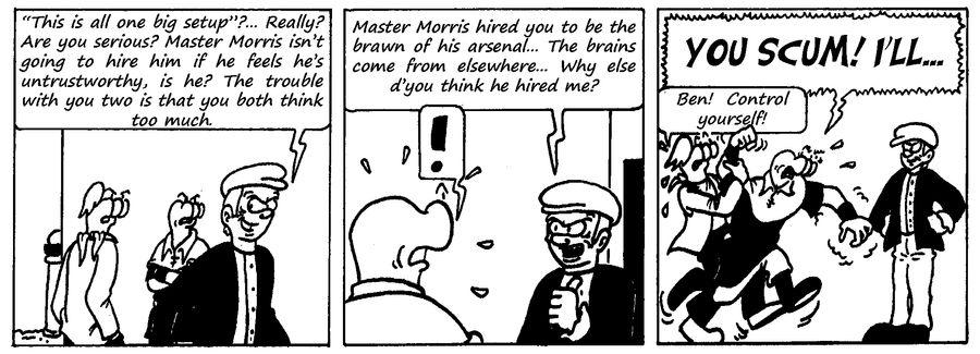 Zander Adventure Strip 108 by MDKartoons