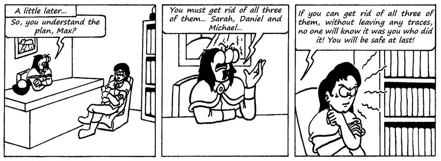 Zander Adventure Strip 110 by MDKartoons