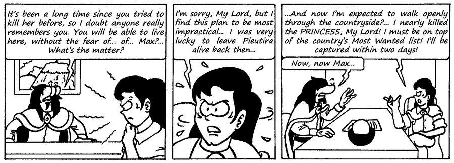 Zander Adventure Strip 111 by MDKartoons
