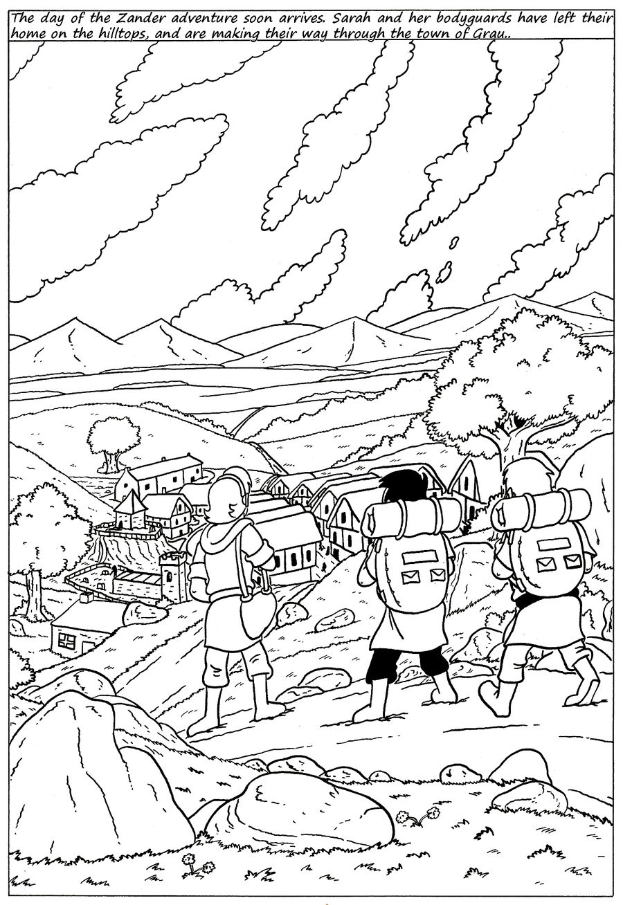 Zander Adventure Strip 115 by MDKartoons