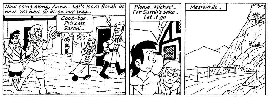 Zander Adventure Strip 120 by MDKartoons