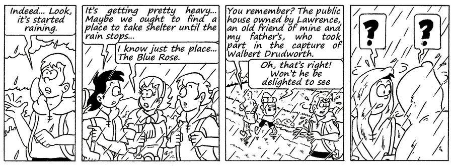 Zander Adventure Strip 125 by MDKartoons