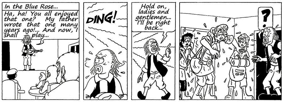 Zander Adventure Strip 128 by MDKartoons