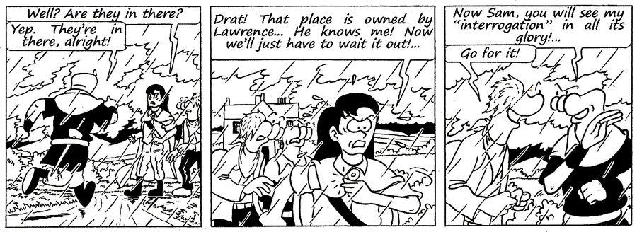 Zander Adventure Strip 132 by MDKartoons