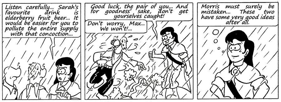 Zander Adventure Strip 135 by MDKartoons