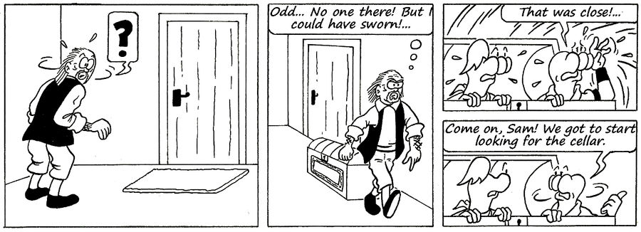 Zander Adventure Strip 137 by MDKartoons