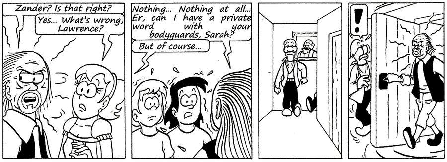 Zander Adventure Strip 139 by MDKartoons