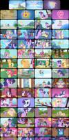 My Little Pony Episode 1 Tele-Snaps by MDKartoons