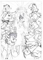 Super Sezer Poster (Pencil) by MDKartoons