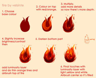 Tutorial - Fire by Velsinte