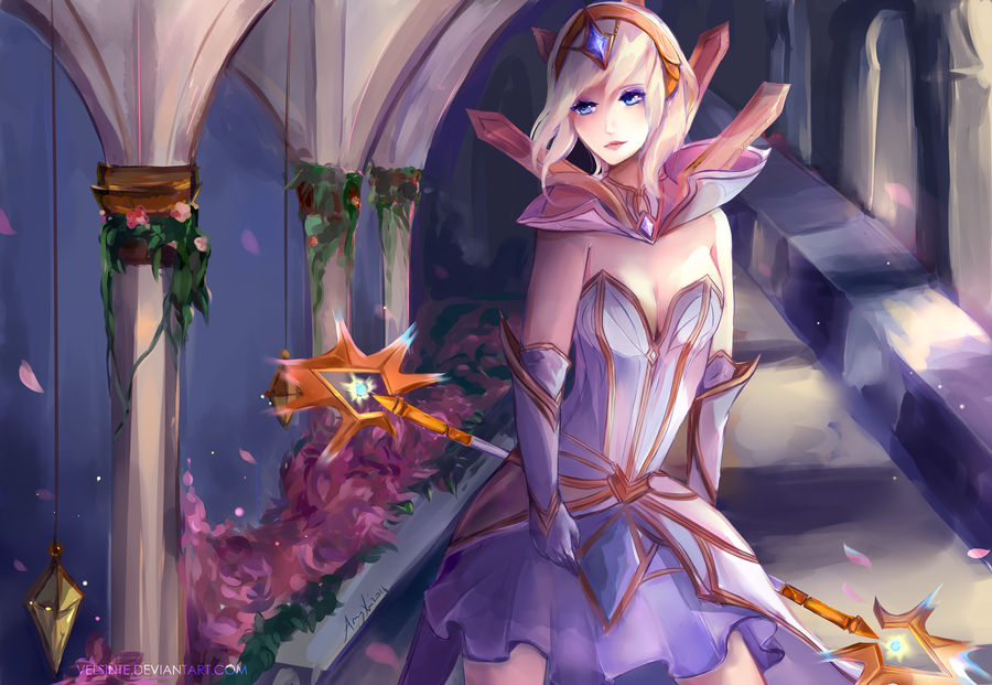 Elementalist Lux By Velsinte On Deviantart