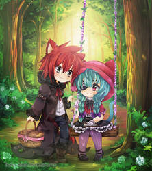 .Little Red Riding Hood. by lNeko-Hime