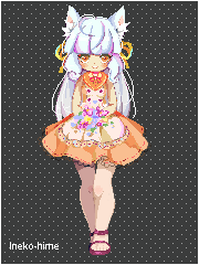 .Pixel - Flowers. by lNeko-Hime