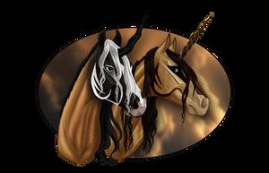 Comm: Kiada and Kianzo by Nikkayla