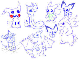 December 1st Doodles by Bokue