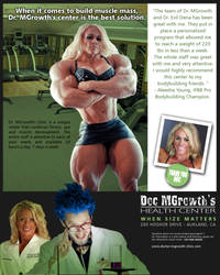 Doc MGrowth Clinic publicity by DrMGrowth