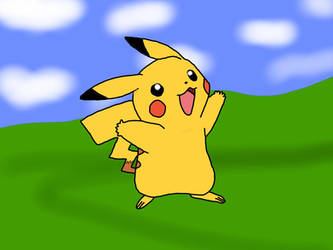 Pikachu by jomy10
