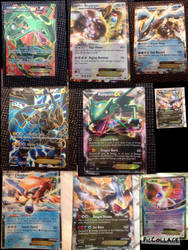 My pokemon collection pokemon EX by jomy10