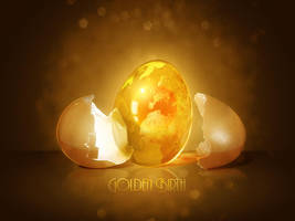 Golden Birth by malmu