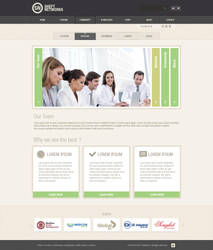 SHEFT Networks Template - For Sale by vertus-design