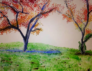 The Crabapple Trees by jag140