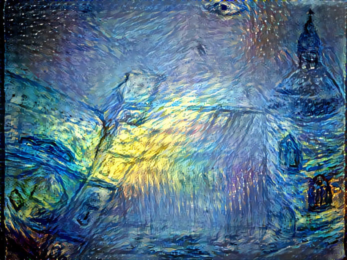 Head in the Stars Deepdream by jag140