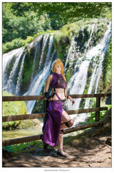 Ino Yamanaka Naruto cosplay . Harpiya design by Rael-chan89