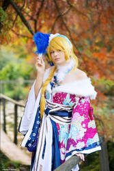 Eli Ayase Love Live cosplay New Year by Rael-chan89