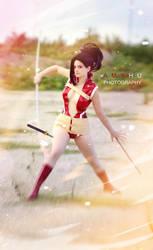 Creaty cosplay My hero Academia Yaoyorozu Momo by Rael-chan89
