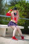 P5 Dancing star night: Ann cosplay by Rael-chan89