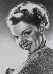 Judy Garland by MarieMay