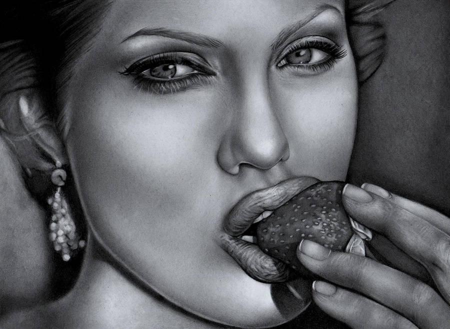 Angelina Jolie by MarieMay