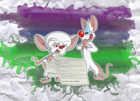 We love Pinky and the Brain by Infindibulator