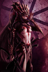 Obsidian Champion by SteveArgyle