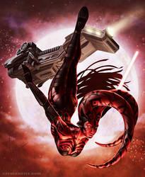 Darth Talon by SteveArgyle