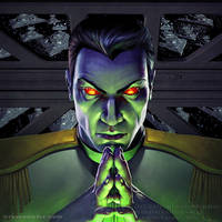 Grand Admiral Thrawn by SteveArgyle