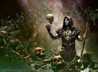 Deathrite Shaman by SteveArgyle