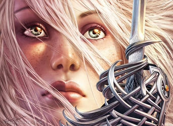 Thalia, Guardian of Thraben by SteveArgyle