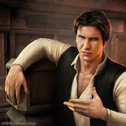 Han Solo by SteveArgyle